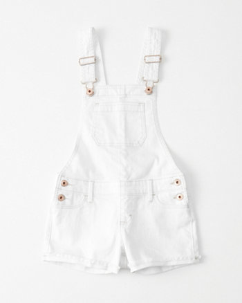 kids Denim Shortalls