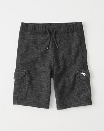 kids Cargo Fleece Shorts