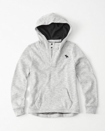 kids Icon Textured Hoodie