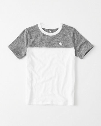 kids Colorblock Icon Crew Tee