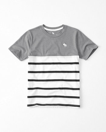 kids Dye Effect Icon Crew Tee
