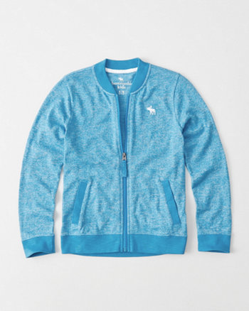kids Lightweight Knit Bomber