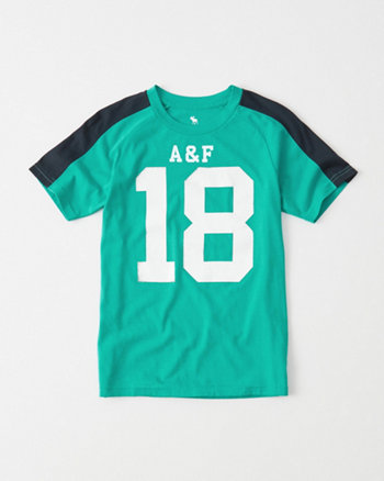kids Graphic Football Tee