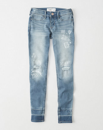 kids Super Skinny Graphic Jeans