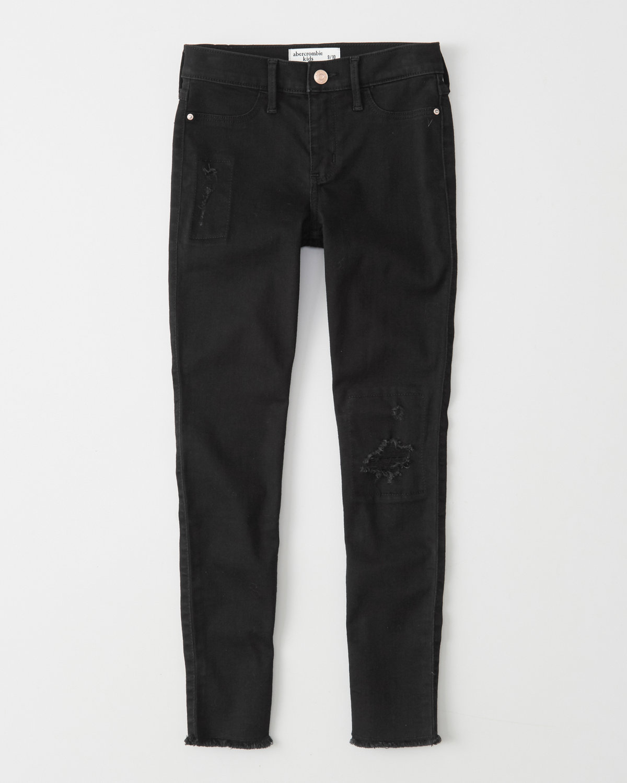 girls jean legging | abercrombie kids