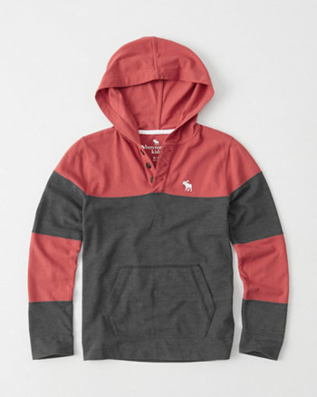 kids Long-Sleeve Hooded Tee