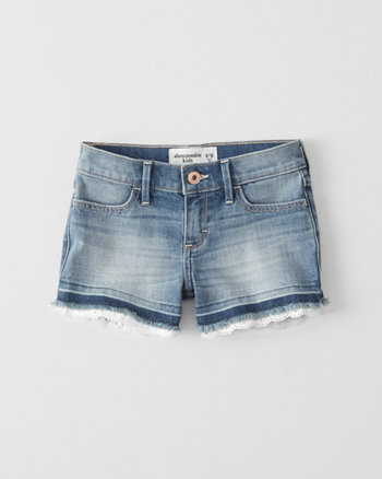 kids Lace Shortie Shorts