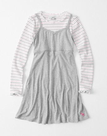 kids twofer slip dress