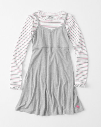 kids twofer slip dress