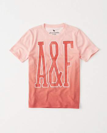 kids Graphic Dip Effect Tee
