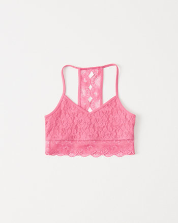kids lace bralette