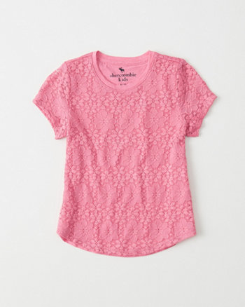 kids Lace Jersey Tee