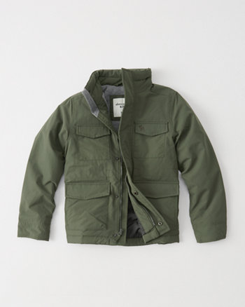 kids Jersey Lined Field Jacket