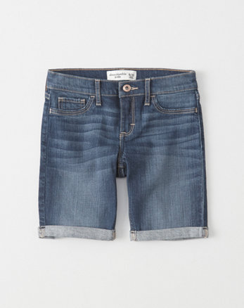 kids Denim Boyshorts