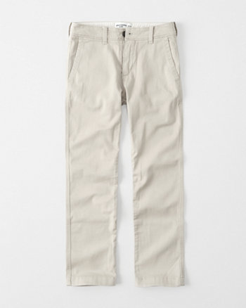 Straight Chino Pants