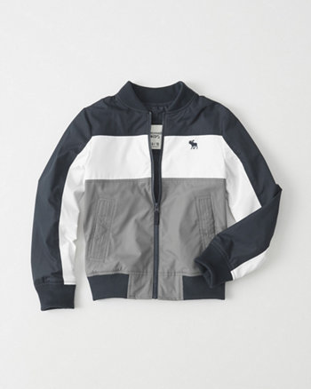 kids Nylon Bomber Jacket