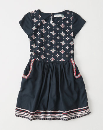 kids Pattern Dress