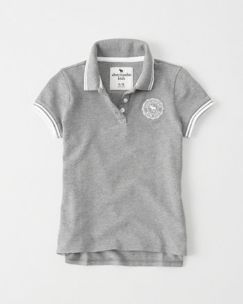 kids Logo Crest Polo