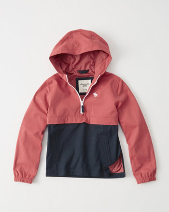 kids Half-Zip Hooded Jacket