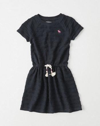 kids Cinched Waist Dress