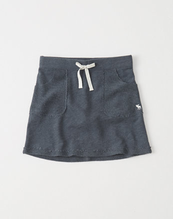 kids Fleece Twofer Skirt