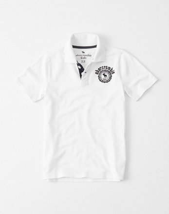 kids Crest Polo