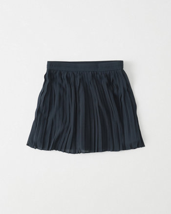 kids Pleated Chiffon Skirt
