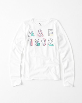 kids Long-Sleeve Graphic Tee