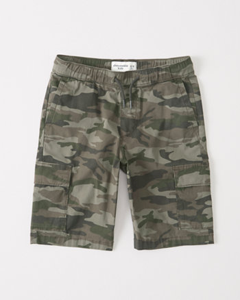kids Pull-On Cargo Shorts