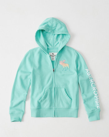 kids Graphic Full-Zip Hoodie