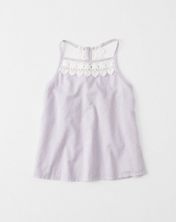 kids Lace Trim Cami
