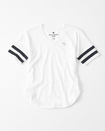 kids Sporty V-Neck Tee