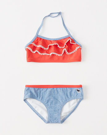 kids americana two-piece swimsuit