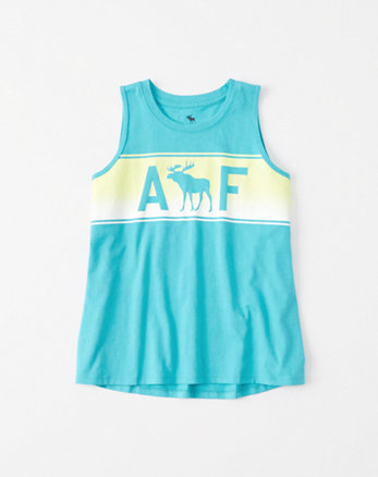 kids Graphic Muscle Tank