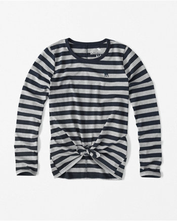 kids knot long-sleeve tee
