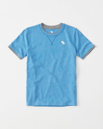 kids Twofer Icon Crew Tee