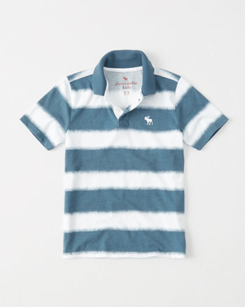kids Dye Effect Polo