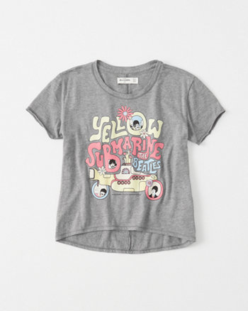 kids Beatles Graphic Tee