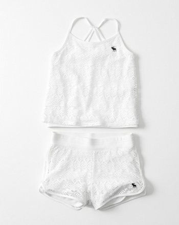 kids Pool-To-Play Tank and Short Set