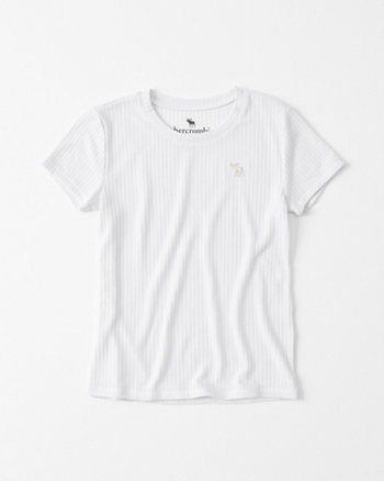 kids Ribbed Jersey Tee