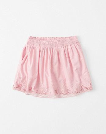 kids Eyelet Skater Skirt