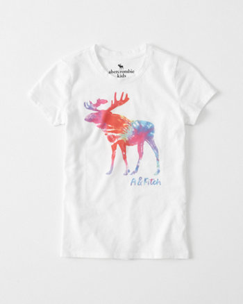 kids Tie-Dye Graphic Tee