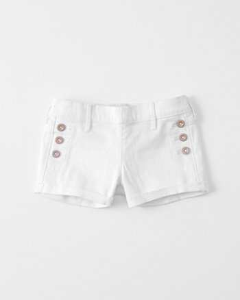 kids Sailor Shortie Shorts