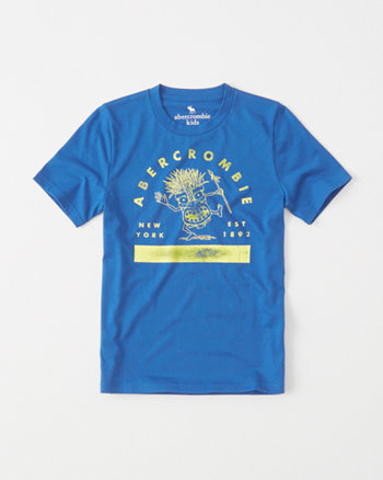 kids Tropical Logo Graphic Tee