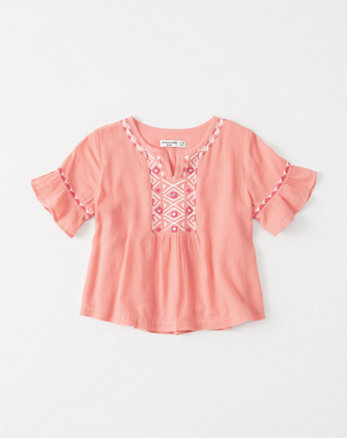 kids Embroidered Top