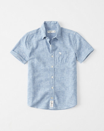 kids Linen-Cotton Summer Shirt