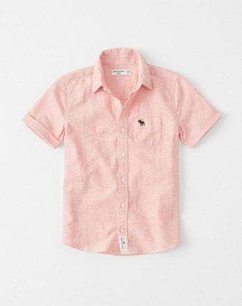 kids Linen-Cotton Summer Shirt
