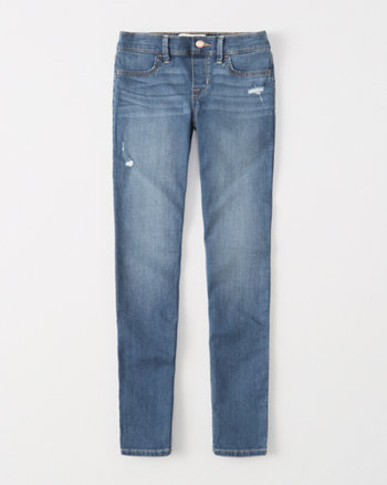 kids Ripped Pull-On Super Skinny Jeans
