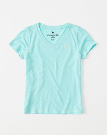 kids Fitted V-Neck Tee