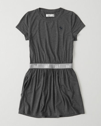 kids Logo T-Shirt Dress